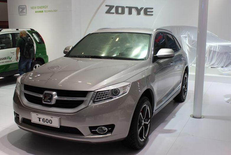Zotye Model Zotye T600 Suv Crossover 160hp World Automobile