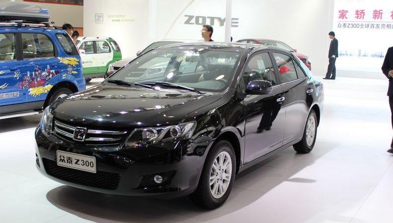 Zotye Model Zotye Z300 Sedan 10 000 World Automobile China