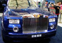 China being the largest market of Rolls-Royce
