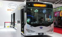 China's BYD to make electric buses in the US in 2013