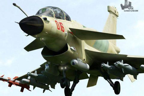 J-10B: The upgraded version of J-10 (AESA Radar) + J-10S (Twin seats)