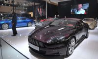 Aston Martin sales in China: 200 units in 2012