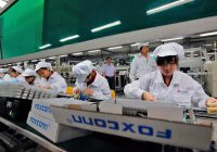 Foxconn workers wage in China – the iPhone producer ($630/month in 2013)