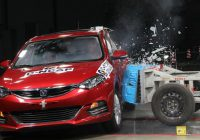 [5 Stars] Chang'an Eado XT C-NCAP crash test 5 stars