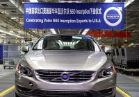 [Gallery] China made Volvo S60L exported to USA