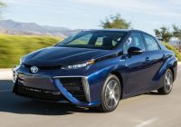 Toyota Mirai Driving on Hydrogen