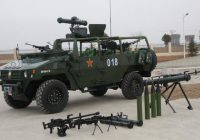 Chinese Type ZFB-05 Light-Duty Wheeled Armoured Vehicle