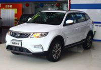 Geely Emgrand Boyue SUV on sale ($15,000)