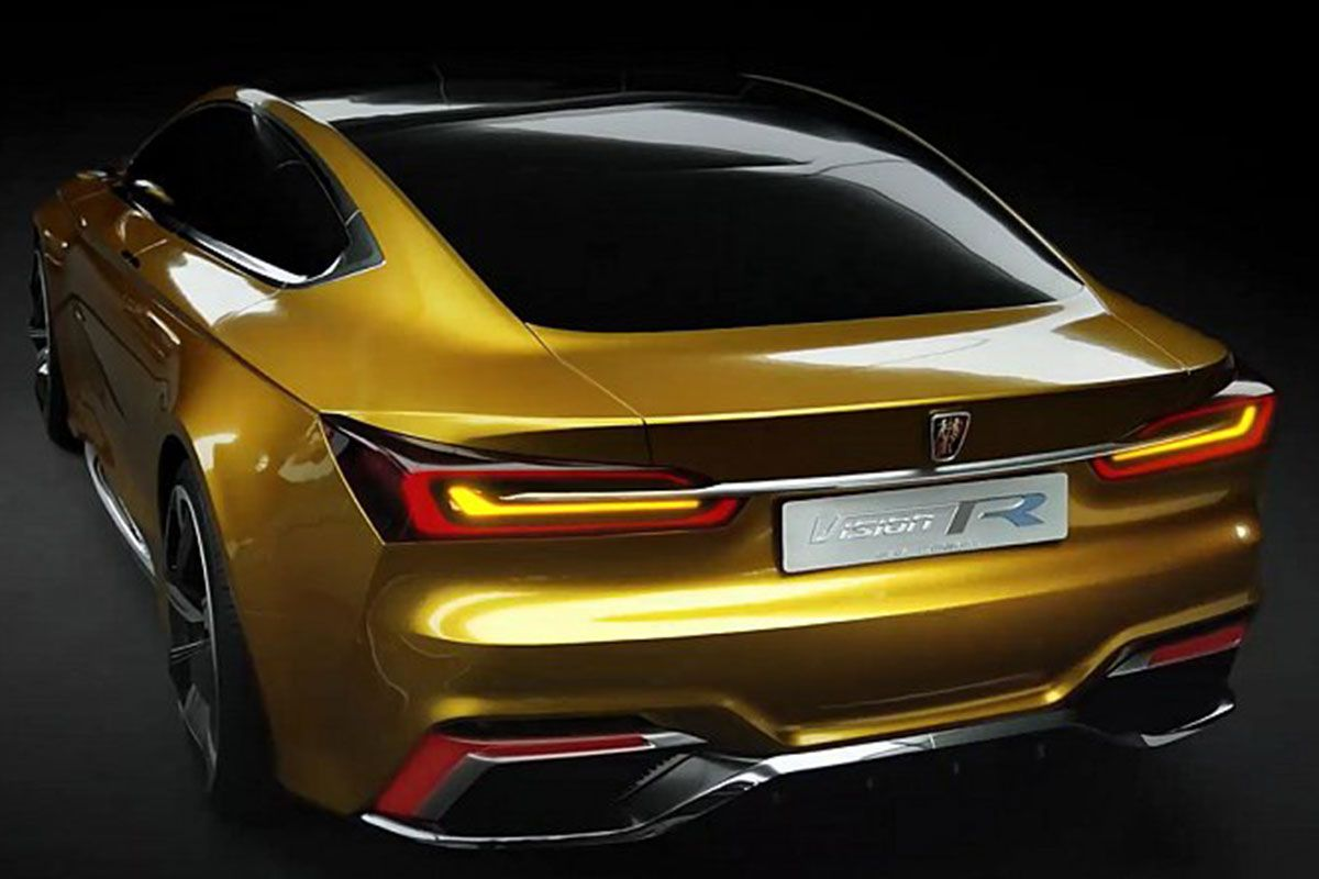 Saic Roewe Supercar Vision R Concept World Automobile