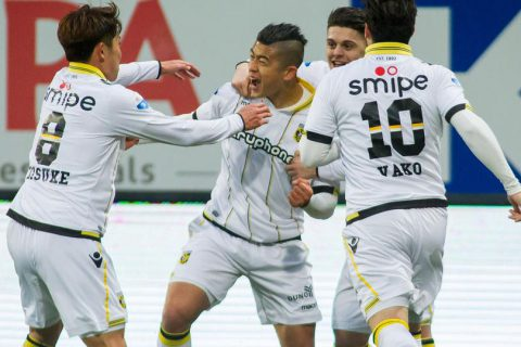 [Zhang Yuning] Dutch Vitesse Club -> Back to China