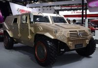 DongFeng Warriror military jeep