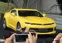 Chevrolet 6th generation Camaro on sale in China