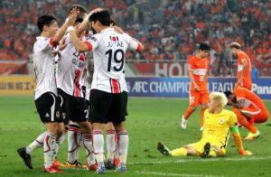 Shandong Luneng – FC Seoul 1:1 (out of race now)