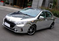 BYD Qin Electric car with silver plating