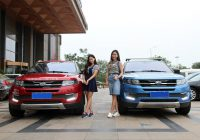 Tourism – Driving with JMC Landwind X7 to see Chinese landscape