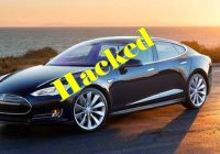 Chinese Researchers Remotely Hack Tesla Model S