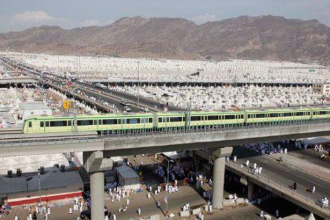Chinese built Al Mashaaer Metro Line Project – Makkah (Mecca)