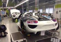 2015 Porsche 911 Production Line