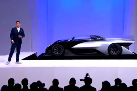 Faraday Future, a Chinese-backed startup, targets Tesla with $1 billion US plant