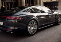 The new Porsche Panamera Turbo and Panamera 4S in motion