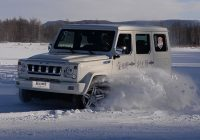 [Gallery] BJ80, BJ40, BJ20 Winter Test Driving