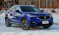 Gallery winter time testing Acura CDX