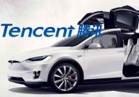 Chinese internet giant Tencent buys 5% of Tesla
