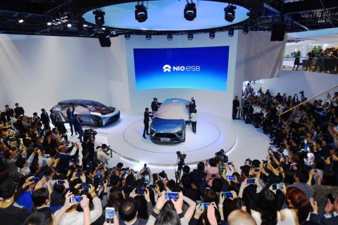 NIO at the Shanghai Auto Show April 2017