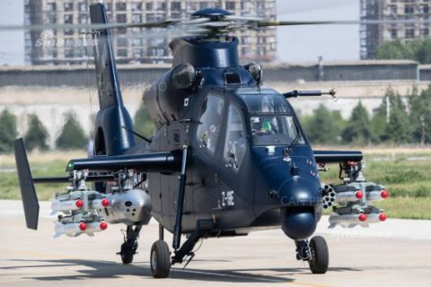 WZ-19E – advanced light-armed helicopter