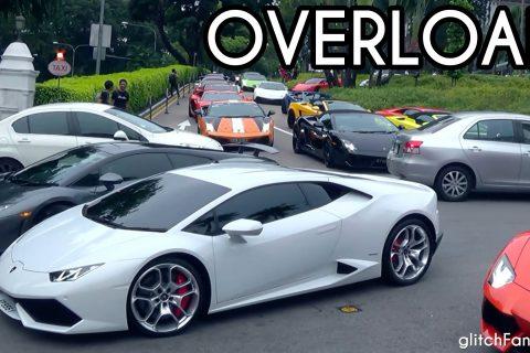 Super cars in Singapore – Lamborghini Overload – Singapore
