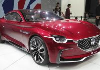 SAIC MG Motor all-new electric supercar concept E-Motion