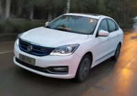 DongFeng FengShen E70 electric car