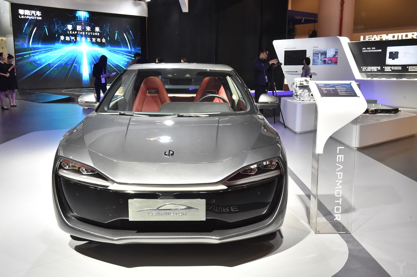 Leap Motor S01 A New Chinese Electric Car Startup