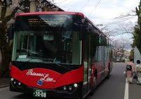 BYD E-bus entering Japan Okinawa