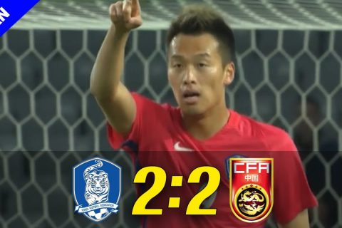 Korea vs China 2:2 ( EAST ASIAN CUP 2017 ) 720p HD