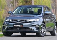 Geely Emgrand GL 1.4T 2018 model ($11,000 – $15,000)