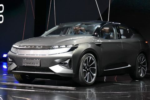 Byton – a new Chinese EV start up auto company