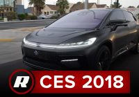 CES 2018: Faraday Future FF91 – Exclusive first passenger ride