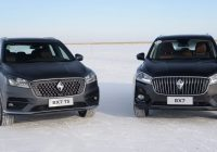 [Gallery] Borgward BX7 ST Winter time testing