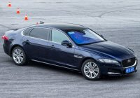 Jaguar XFL: China only long-wheelbase XF