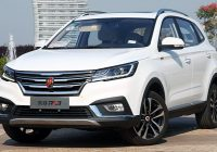 SAIC Roewe RX3 1.5L small city SUV