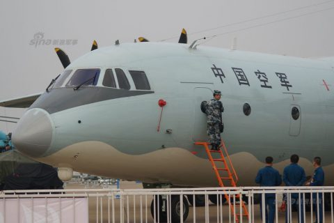 [Y-9] Chinese airforce Yun-9 transport aircraft