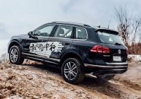 [Gallery] Volkswagen Touareg 2018 model in China ($100,00 – 140,000)