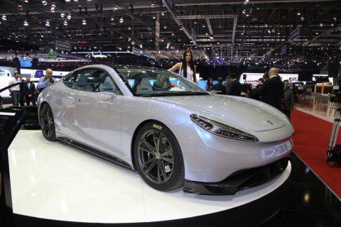 LVCHI Auto Venere – a new Chinese electric supercar