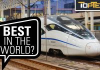 Top 10 Fascinating Facts About China's High Speed Trains