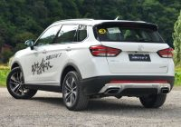 [Gallery] Brilliance V7 mid-size SUV 2018 model (150Kw, 280Nm)