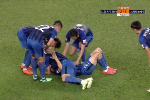 [Special: all 6 Chinese goals] Jiangsu Suning FC 5:1 Shanghai Shenhua
