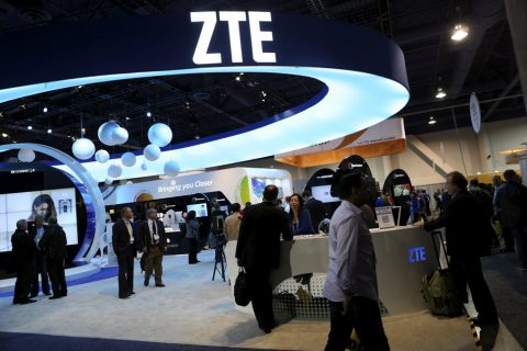 [2018.04] U.S. bans American companies from selling to Chinese phone maker ZTE