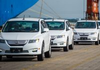 BYD e6 exporting to Thailand (100 units)