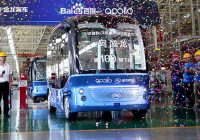 [Apollo] Baidu's self-driving bus begins mass production